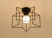 领秀照明 北欧气概 铁艺2256-B吊灯(含E27龙珠泡白光7W)