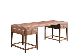 811#瑞德家居 系列 新中式气概 全实木  书桌