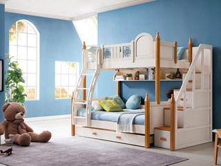 地中海实木儿童床501# 1.2m组合床(不含梯柜和拉床)