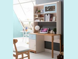 地中海书桌5503# 1.2米直角书桌