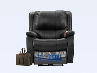 甲等舱单人懒人电动沙发真皮功效客堂芝华士太空舱椅 (此款不含抱枕)