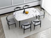 艺家 轻奢气概 1.4米 大理石 餐桌