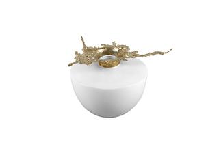 新中式气概 铜+陶瓷 花器