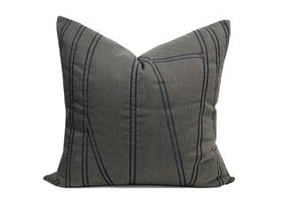 轻奢 肌理布 灰色 斑纹 抱枕