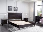 芝华仕 顿图系列 简美气概 实木 1.8米 胡桃色 床(含实木床排)