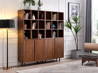 北欧风格 北美进口白蜡木 大容量储物 间厅柜(单个)