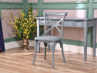 北美进口红橡 嘉宝莉环保漆 简美风格 艾弗尔工矿椅