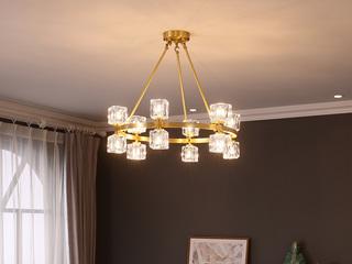 全铜欧式款 吊灯