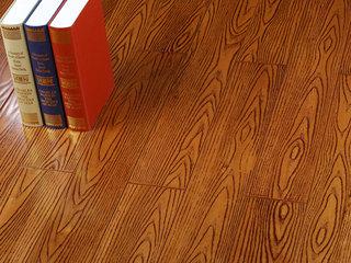 实木仿古浮雕纹实木地板