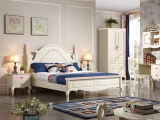 空中花宛 圣洁白+粉色 R0227 床头柜