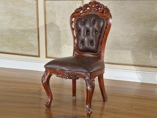艾菲尔色无扶手餐椅