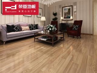 仿实木强化地板 复合木地板12mm 廊桥印橡 环保地板 YJ002 厂家直销