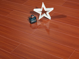 简美 多层实木地板 麻面 中性色系 桉木地板