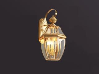 欧式WA-3铜灯 3头壁灯(包邮)(不含光源)