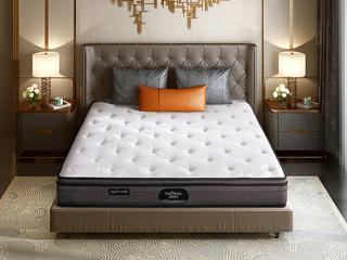 公爵B款 偏硬护脊双人床垫 纳米针织布 1.8*2.0米可定制床垫(包邮 送货到家)
