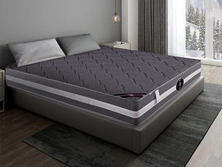 公爵C款 天然东南亚进口乳胶床垫 竹炭面料床垫 正反两用 静音独立袋弹簧 1.5*2.0米可定制床垫(包邮 送货到家)