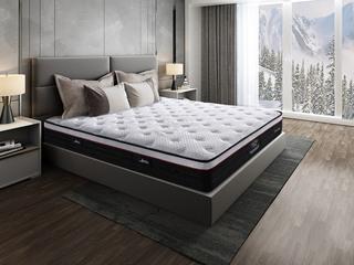 侯爵B款 9区独立袋装弹簧 天然东南亚进口乳胶床垫 高棉纳米针织面料 软硬两用床垫 1.5*2.0米可定制床垫