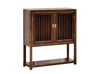 中式风格 北美进口白蜡木书柜