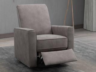 【江浙沪包邮】 现代极简 单人位功能性沙发可摇可转可躺