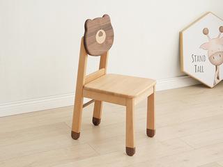北欧风格 榉木坚固框架 手工木蜡油工艺 曲奇色 ET6502书椅