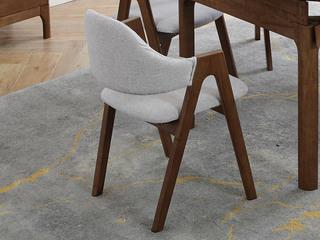 北欧风格 2312 胡桃色A字椅