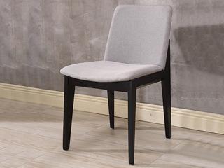 现代简约 白蜡木皮艺餐椅
