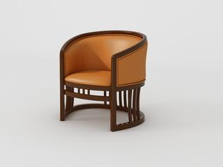 新中式 小乌金木 FA1901休闲椅