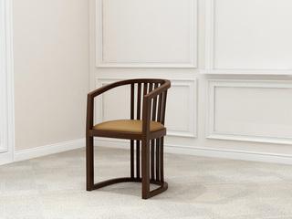 新中式 小乌金木 FA1901主人椅