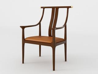 新中式 小乌金木 FA1902主人椅