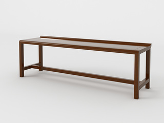 新中式 小乌金木 FA1901长茶凳