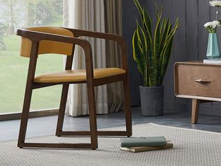 北欧风格 北美进口白蜡木 扶手椅(单把价格 需双数购买 单数需增加打包费用)