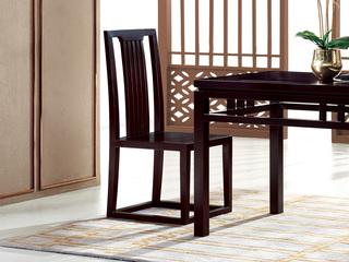 新中式 东南亚进口红檀木 C952 餐椅