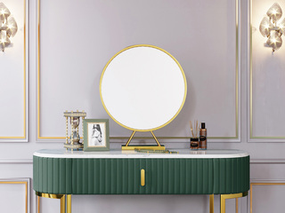 轻奢风格 优质铁艺烤漆 加厚玻璃镜 镜子