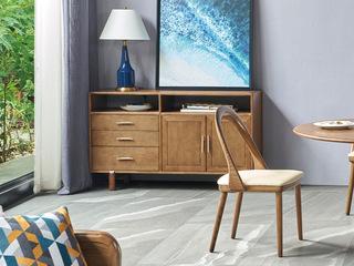 北欧风格 精选白蜡木 优雅木纹 优质五金把手 餐边柜