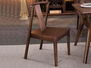 意式极简 原木框架 餐椅(单把价格 需双数购买 单数需增加打包费用)