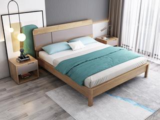 北欧风格 泰国进口橡胶木 松木床板条 1.8*2.0米床