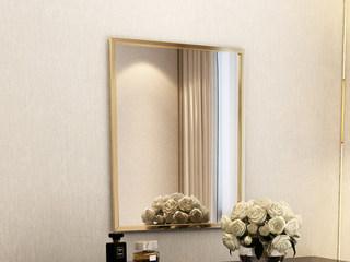 轻奢风格 高清长方形妆镜