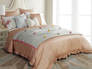 气球天空 床品四件套(含1对枕套、1条被套、1条床单)(不含芯)