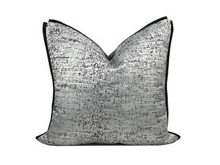 轻奢 肌理布 灰色 花纹 抱枕