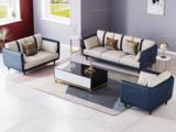 卡罗亚 轻奢风格 高端纳帕皮+实木框架 1+2+3沙发组合