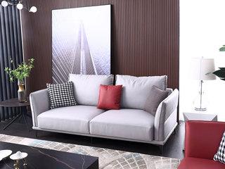 科技布 松木底架 现代简约 三人位 沙发