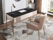 慕梵希 轻奢 岩板 书桌(长1600mm)