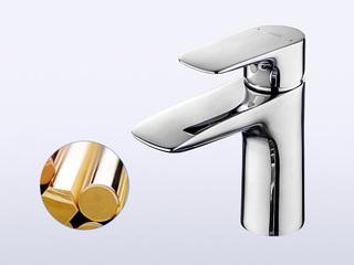 铜合金台式 起泡吐水 单柄双控淋浴水嘴(单孔)