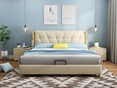 皮坊工藝 布藝系列 現代簡約風格 超透氣軟體 放松一晚 1.8米床